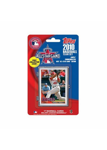 2010 Topps Team Set - Anaheim Angels All Star Commemorative Set - Peazz.com