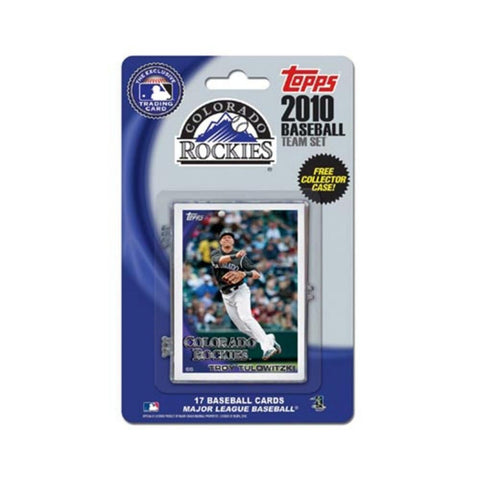 2010 Topps Team Set - Colorado Rockies - Peazz.com