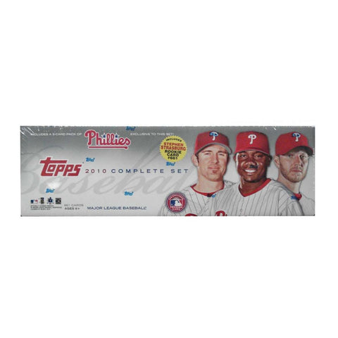 2010 Topps MLB Factory Set - Philadelphia Phillies - Retail (666 Cards) - Peazz.com
