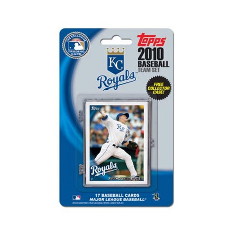2010 Topps Team Set - Kansas City Royals - Peazz.com