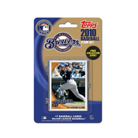 2010 Topps Team Set - Milwaukee Brewers - Peazz.com