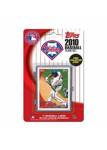 2010 Topps Team Set - Philadelphia Phillies - Peazz.com
