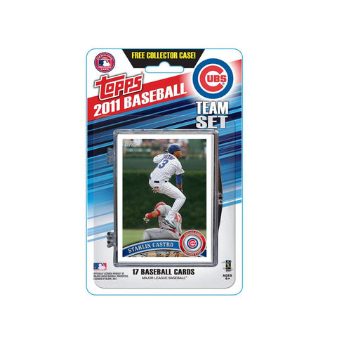 2011 Topps Team Sets - Chicago Cubs - Peazz.com