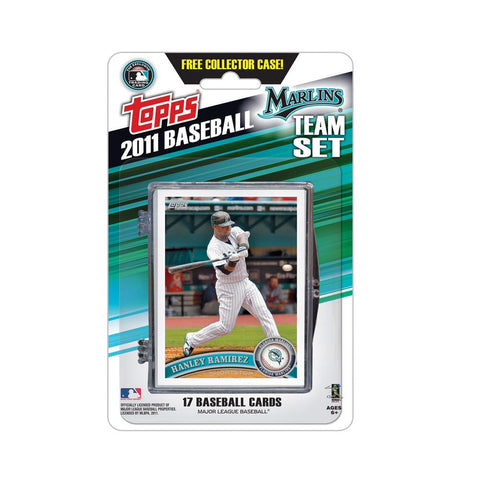 2011 Topps Team Sets - Florida Marlins - Peazz.com