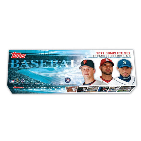 2011 Topps MLB Factory Set- Retail (660 Cards) - Peazz.com
