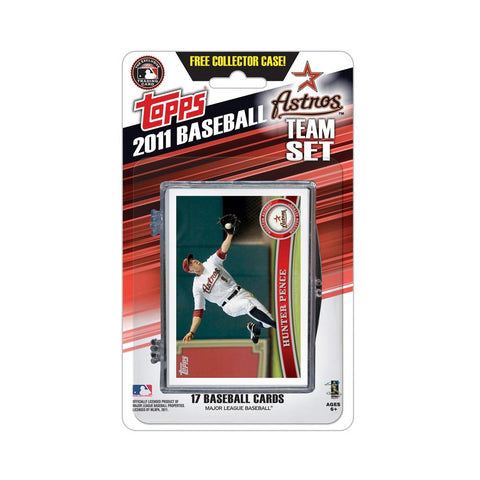 2011 Topps Team Sets - Houston Astros - Peazz.com