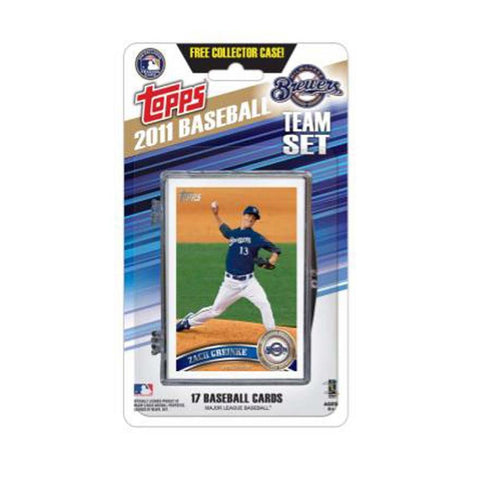 2011 Topps Team Sets - Milwaukee Brewers - Peazz.com