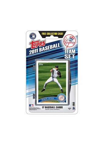 2011 Topps Team Sets - New York Yankees - Peazz.com