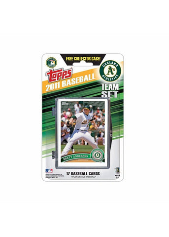 2011 Topps Team Sets - Oakland Athletics - Peazz.com