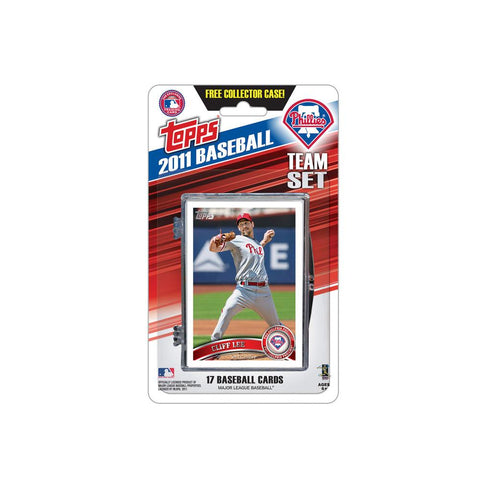 2011 Topps Team Sets - Philadelphia Phillies - Peazz.com