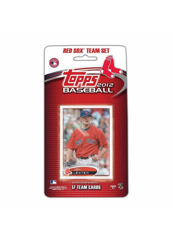 2012 Topps MLB Team Sets - Boston Red Sox - Peazz.com