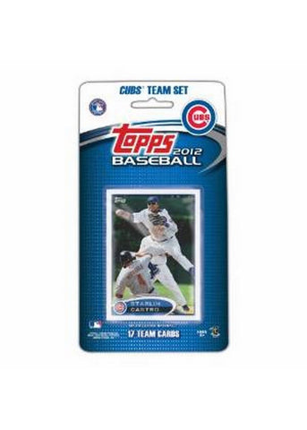 2012 Topps MLB Team Sets - Chicago Cubs - Peazz.com