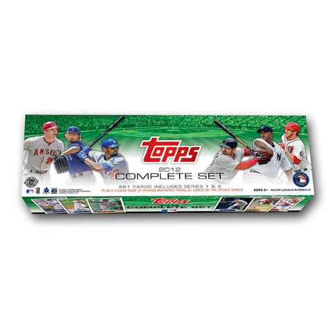 2012 Topps Baseball Complete Set - Holiday Version - Peazz.com