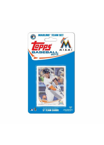 Topps 2013 Team Set - Miami Marlins - Peazz.com
