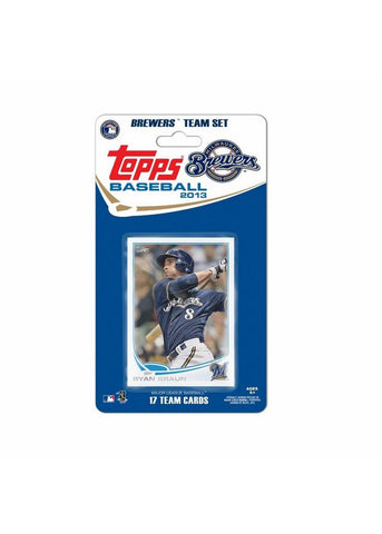 Topps 2013 Team Set - Milwaukee Brewers - Peazz.com