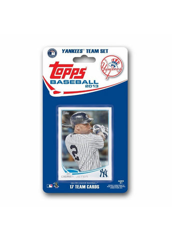 Topps 2013 Team Set - New York Yankees - Peazz.com