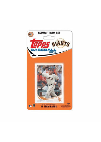 Topps 2013 Team Set - San Francisco Giants - Peazz.com