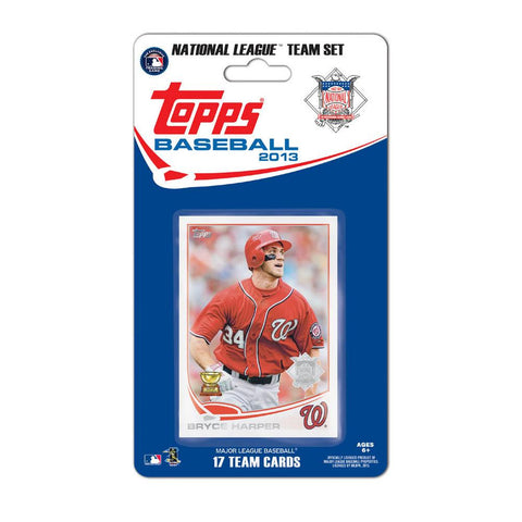 Topps 2013 Team Set - Washington Nationals - Peazz.com