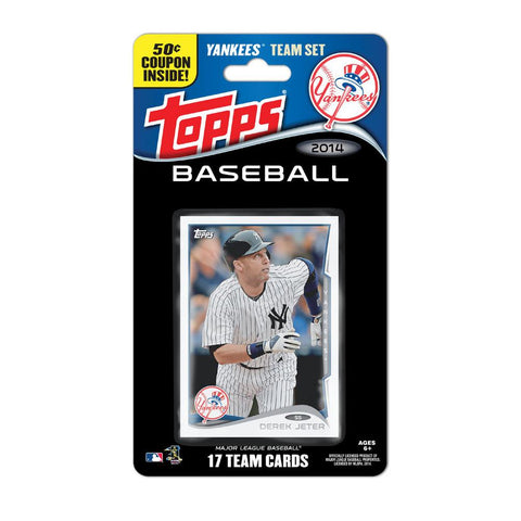 2014 Topps MLB Sets -  New York Yankees - Peazz.com