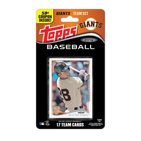 2014 Topps MLB Sets -  San Francisco Giants - Peazz.com