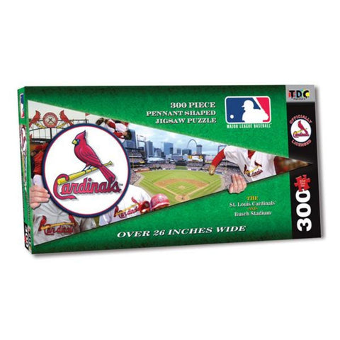 MLB Pennant Shaped Puzzle - Cardinals - Peazz.com