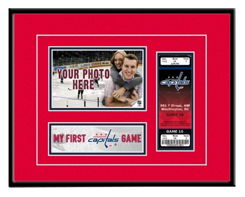 Washington Capitals - My First Game Ticket Frame - Peazz.com