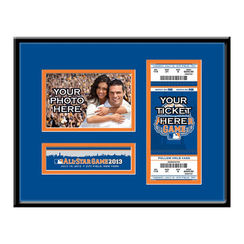 2013 MLB All-Star Game 4x6 Photo and Ticket Frame - Mets - Peazz.com