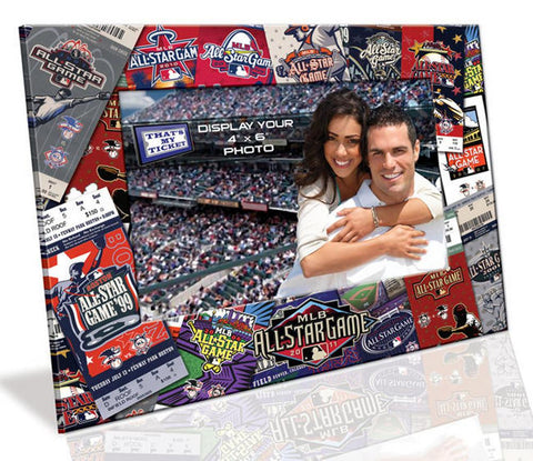 4X6 Picture Frame - 2011 All Star Game - Peazz.com