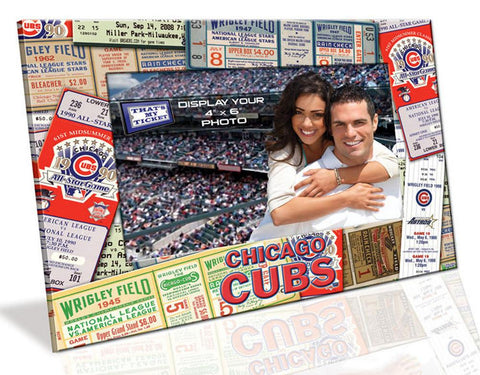 4X6 Picture Frame - Chicago Cubs - Peazz.com