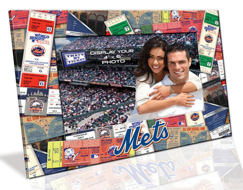 4X6 Picture Frame - New York Mets - Peazz.com