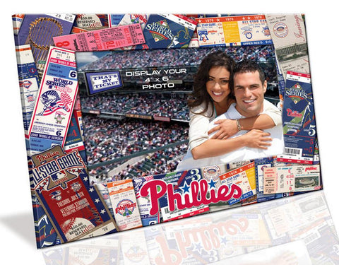 4X6 Picture Frame - Philadelphia Phillies - Peazz.com