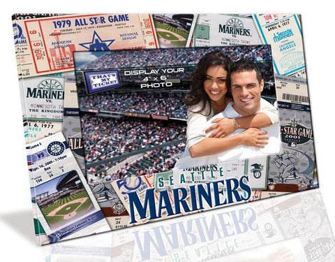 4X6 Picture Frame - Seattle Mariners - Peazz.com