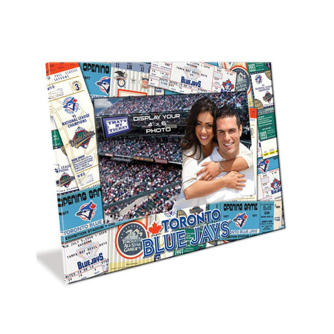 4X6 Picture Frame - Toronto Blue Jays - Peazz.com