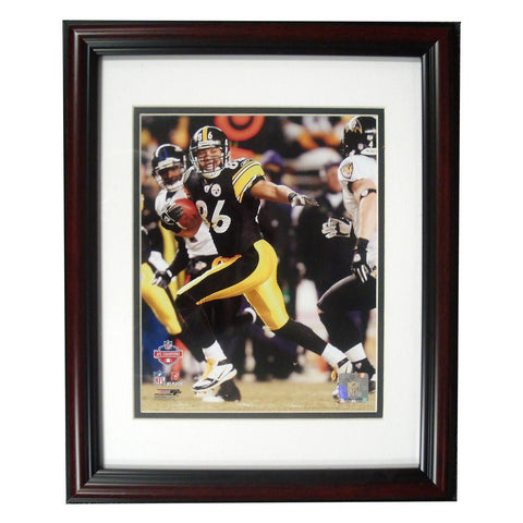 Treehugger 11X14 Unsigned Framed Photo - Pittsburgh Steelers Hines Ward - Peazz.com