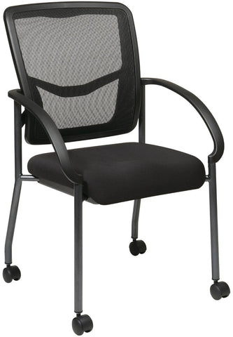 Office Star Pro-Line II 85640-30 ProGrid Back Visitors Chair - Peazz.com