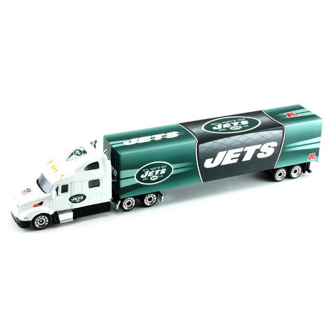 2012 Tractor Trailer 1:80 Scale Diecast - New York Jets - Peazz.com