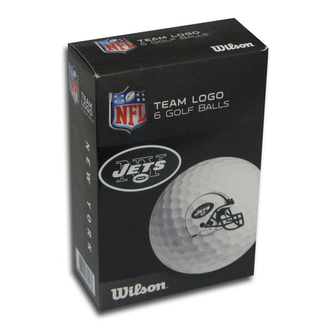 6 pack Wilson Golf Balls - New York Jets - Peazz.com