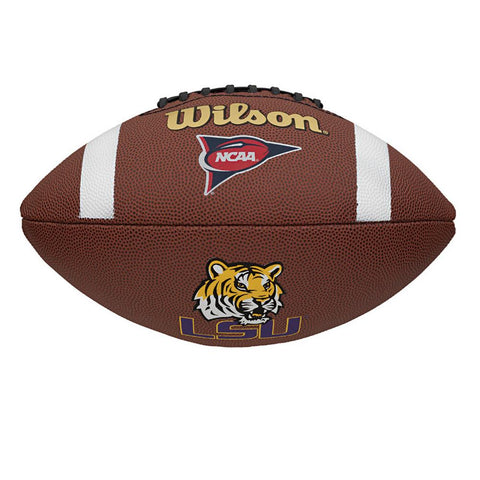 Wilson Composite Football - LSU Tigers - Peazz.com