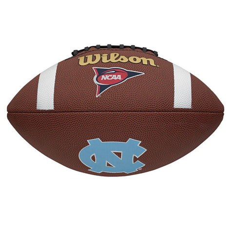 Wilson Composite Football - North Carolina Tar Heels - Peazz.com
