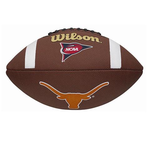 Wilson Composite Football - Texas Longhorns - Peazz.com