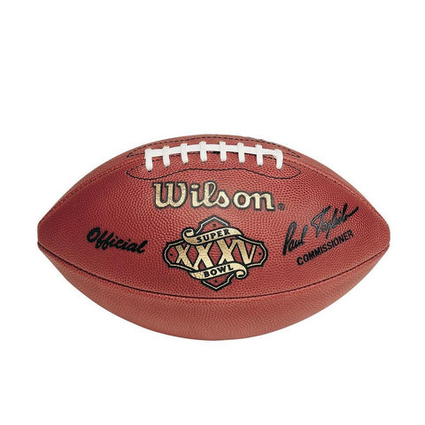 Official Wilson Super Bowl 35 Football - Peazz.com