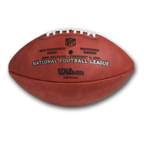 Wilson Superbowl 47 Official Game Football With Team Names - Peazz.com