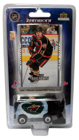 2007/8 NHL Zamboni - Minnesota Wild With A Brian Rolston Card - Peazz.com