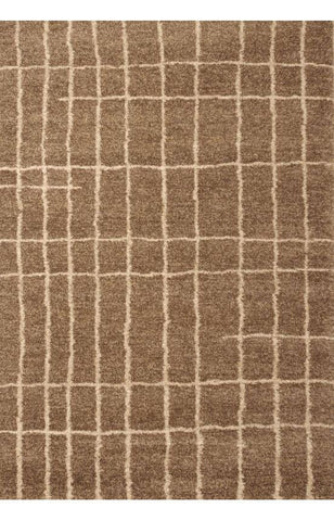 Bayden Hill 2502-8x10 Granada Plaza Med. Brown/Ivory Area Rug - Peazz.com