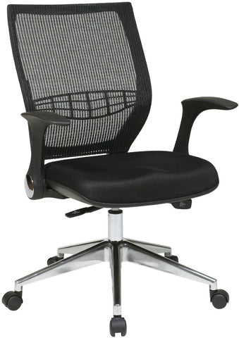 Office Star Pro-Line II 80885AL-3 ProGrid Back Managers Chair - Peazz.com