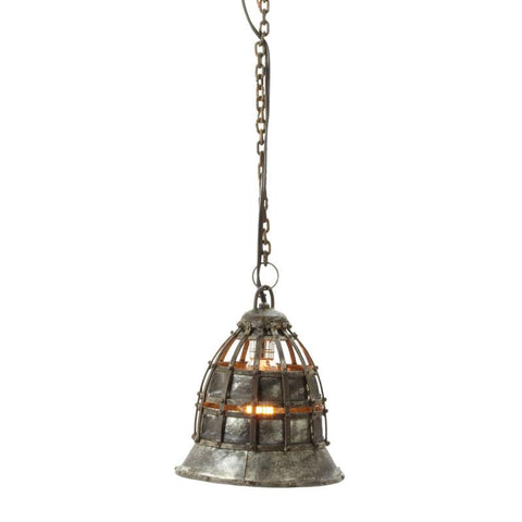 Lazy Susan 135003 Flared Fortress Pendant Light - Peazz.com