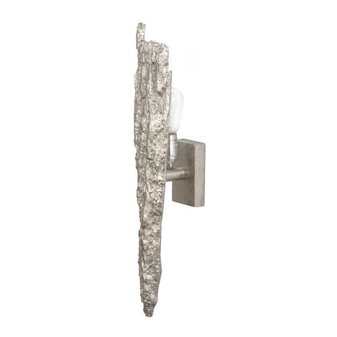 Lazy Susan 468016 Silver Bark Wall Sconce - Peazz.com
