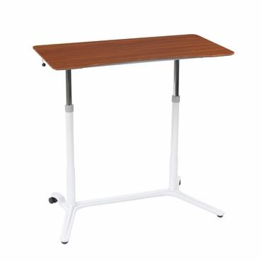Studio Designs 51231 Sierra Adjustable Height Desk White / Cherry - Peazz.com