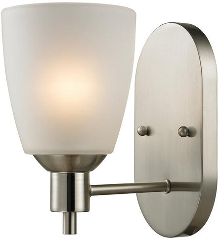 Cornerstone 1301WS/20 Jackson 1 Light Sconce In Brushed Nickel - Peazz.com
