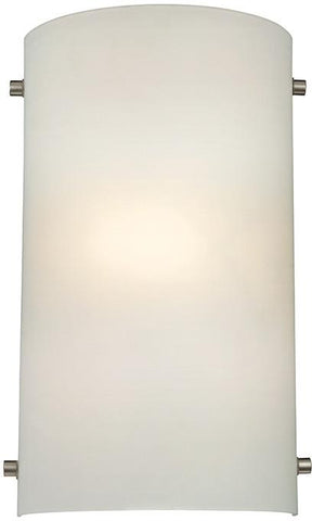 Cornerstone 5161WS/99 1 Light Wall Sconce In Brushed Nickel - Peazz.com